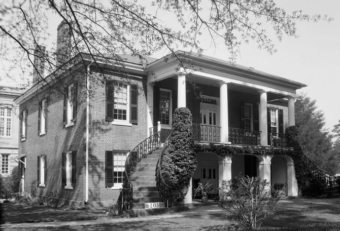 Gorgas House, 1934. (Photograph taken by W. N. Manning, HABS Survey, Library of Congress Prints and Photographs Division)
