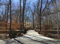 The entrance to Tom Hendrix property and Wichahpi Commemorative Wall. (Anne Kristoff / Alabama NewsCenter)