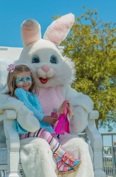 Easter at the Wharf in Orange Beach. (Contributed)