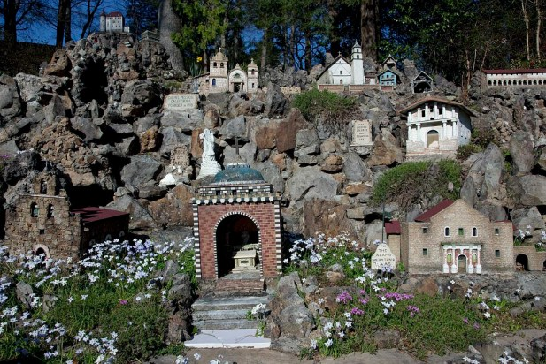 Ave Maria Grotto, Cullman, 2010. (The George F. Landegger Collection of Alabama Photographs in Carol M. Highsmith's America, Library of Congress, Prints and Photographs Division)