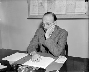 David Lilienthal, director of the Tennessee Valley Authority, 1938. (Harris and Ewing, Library of Congress Prints and Photographs Division)