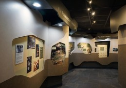 Museum at the Russell Cave National Monument Visitor Center. (Erin Harney/Alabama NewsCenter)