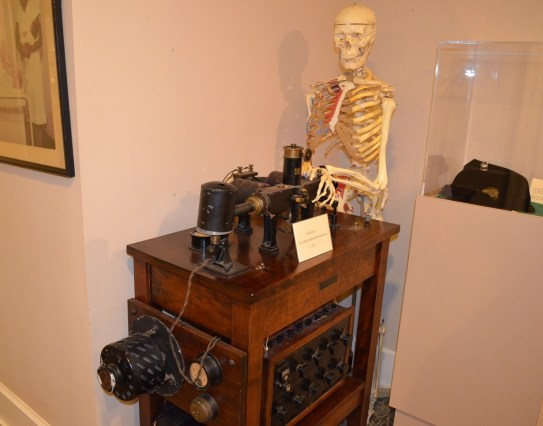 The Mobile Medical Museum has plenty to satisfy those interested in medical history and science as well as the morbidly curious. (Michael Tomberlin/Alabama NewsCenter)