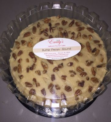 Customer's order is ready - butter pecan cake (Keisa Sharpe/Alabama NewsCenter)