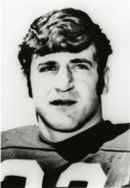 Johnny Musso during his days as a star running back for the Crimson Tide. Musso was a Heisman Trophy finalist and later played for the Chicago Bears. (University of Alabama)