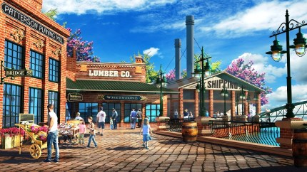 The Warehouse District will have shopping, dining and entertainment. (OWA)