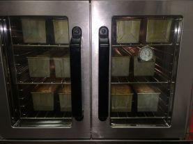 Pound cakes baking at Chef's Workshop in Hoover (Keisa Sharpe/Alabama NewsCenter)