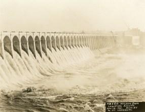 Wilson Lock and Dam. (Alabama Power Company Archives)