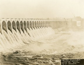 Wilson Lock and Dam. (Alabama Power Company Archives)