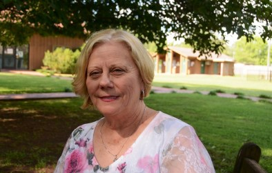 Sue Pilkilton is the executive director of the Helen Keller Birthplace, where she has worked for 46 years. (Karim Shamsi-Basha/Alabama NewsCenter)