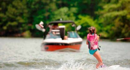 Anyone being pulled on skis must wear a U.S. Coast Guard-approved life jacket. (File)