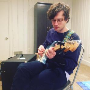 Guitarist from Holy Youth practices (contributed)