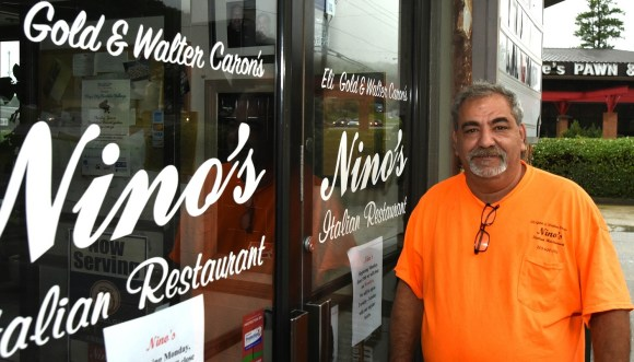 Walter Caron says Nino's Italian, the restaurant he owns with sportscaster Eli Gold, will be a hometown eatery for the revived Birmingham Bulls hockey team, which will play in Pelham. (Solomon Crenshaw Jr./Alabama NewsCenter)