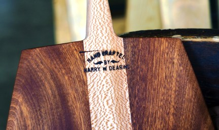 When a piece of wood speaks to Harry Dearing, the Greenville craftsman knows what to do with it. (Mark Sandlin/Alabama NewsCenter)
