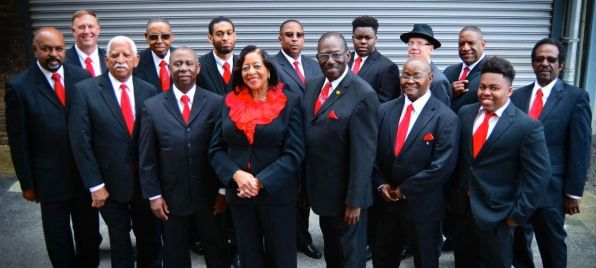 Members of the Birmingham Heritage Band. (Bernard Lockhart)