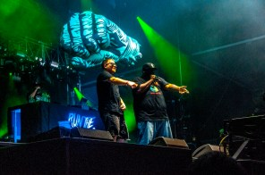 Run the Jewels performs at SlossFest. (Billy Brown / Alabama NewsCenter)