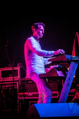 Tycho performs at SlossFest. (Billy Brown / Alabama NewsCenter)