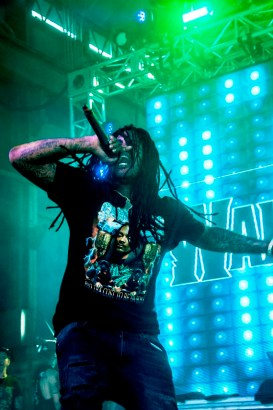 Waka Flocka Flame performs at SlossFest. (Billy Brown / Alabama NewsCenter)
