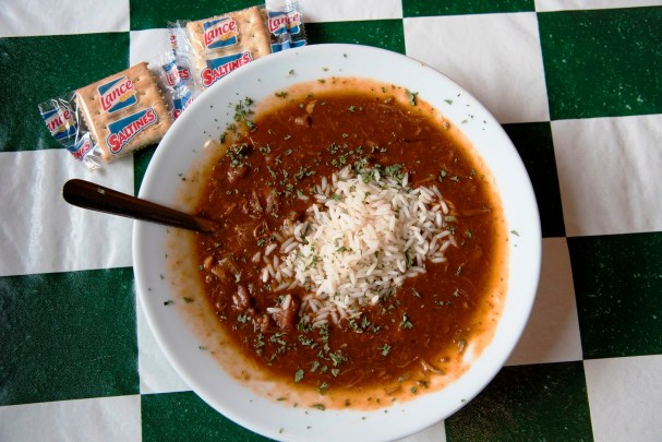 Doc's serves a rich seafood gumbo. (Brittany Faush-Johnson/Alabama NewsCenter)
