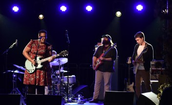 Alabama Shakes have conquered the world in the last five years, and they always receive a hero's welcome when they play Alabama. (Nik Layman/Alabama NewsCenter)
