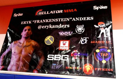 Former Crimson Tide linebacker Eryk Anders is fast emerging as a force in MMA and the UFC ranks. (Solomon Crenshaw Jr. / Alabama NewsCenter)