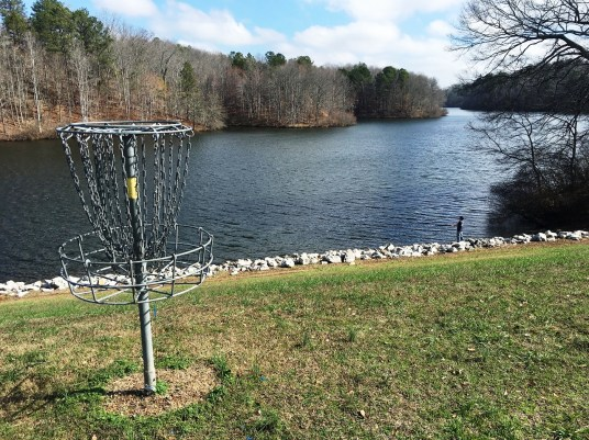 "Cooperation among businesses, government agencies and educational institutions turned an area known as ""the watershed"" into an attraction called Cahulga Creek Park. (Brittany Faush-Johnson/Alabama NewsCenter)"