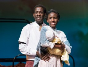 "Willie Williams and Carli Hardon in Theatre Tuscaloosa's upcoming production of ""Ragtime,"" running July 14-23 in the Bean-Brown Theatre. Photo by P. Solorzano."
