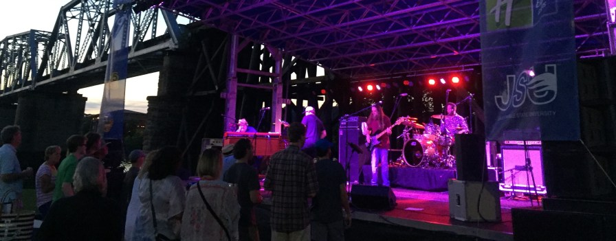 Rebirth Brass Band at Rock the River in Gadsden. (Contributed)