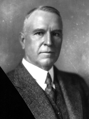 James R. McWane moved to Birmingham in the early 20th century and began a foundry business. He rose quickly in the industry, expanding into pipe production and what today is one of the largest water and sewer pipe manufacturing companies in the world. (Courtesy of Birmingham Public Library Archives)