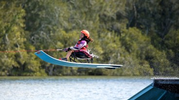 UAB's Kerri Vanderbom returned to the Disabled Water Ski World Championships this year after a nine-year break. (Shane Morgan)