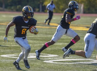 BSC wide receiver Jamal Watkins is expected to be a major part of the Panthers offense this year. (BSC Athletics)