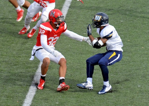 Huntingdon safety Anthony Wood is expected to be a big part of the Hawks defense this year. (Huntingdon Athletics)