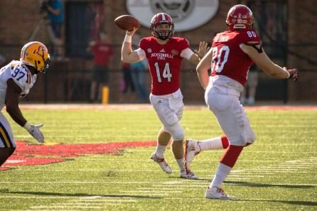 JSU quarterback Bryant Horn is back to lead the Gamecocks offense. (Matt Reynolds / JSU Athletics)