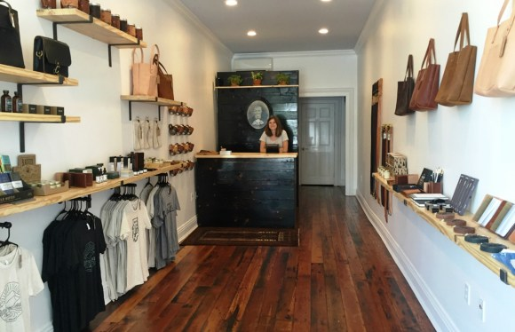The Loyal Stricklin store is part of the new wave of Opelika businesses. (Anne Kristoff/Alabama NewsCenter)