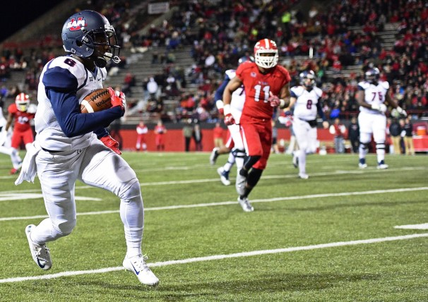 Samford wide receiver Kelvin McKnight is Samford's only returning wideout. (Samford Athletics)