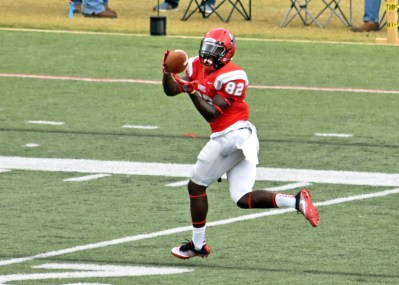 Huntingdon receiver Otis Porter is one of the experienced players returning for the Hawks this year. (Huntingdon Athletics)