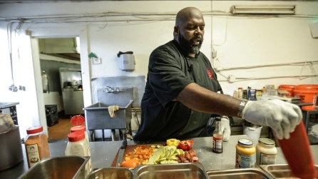 Dwayne Thompson's Big Daddy Bomb BBQ Sauce is the flagship product for Big Daddy Sauces in Birmingham. (Bruce Nix / Alabama NewsCenter)