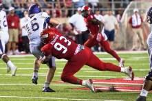 JSU defensive lineman Randy Robinson is part of an experienced Gamecocks defense. (Matt Reynolds / JSU Athletics)