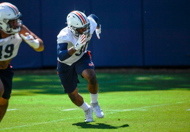 Auburn's Tre' Williams is one of four Tigers in this year's Senior Bowl lineup. (Wade Rackley / Auburn Athletics)