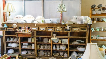 Vintage items not old enough for Old Town Alabama find their way to Rescued Relics where they hope to find new life elsewhere. (Mark Sandlin / Alabama NewsCenter)
