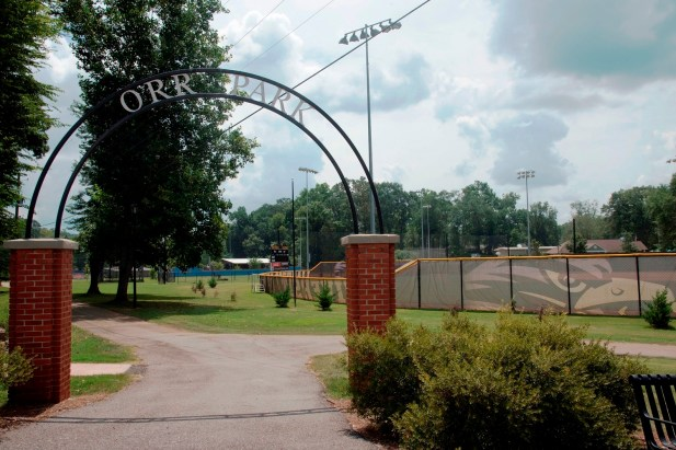 New athletic facilities at Montevallo's Orr Park were the result of a collaboration between the city and the University of Montevallo. (Brittany Faush-Johnson/Alabama NewsCenter)