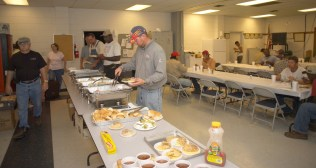 Feeding and housing Alabama Power crews during storm restoration requires a lot of coordination. (File)