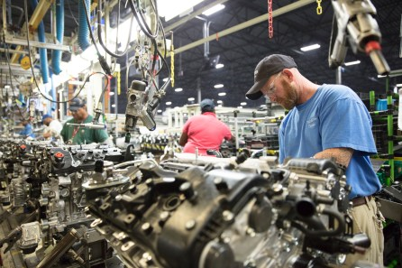 Toyota is investing $106 million in its Huntsville engine plant, adding 50 jobs. (Toyota Alabama)