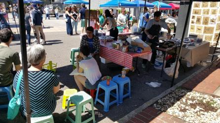 Woodlawn Street Market. (Contributed)