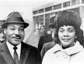 Dr. & Mrs. Martin Luther King Jr., 1964. (Photograph by Herman Hill, Library of Congress Prints and Photographs Division)