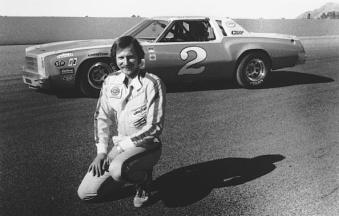 Dale Earnhardt before he became one of NASCAR's greatest stars. His string of victories at Talladega began in the 1980s. (ISC Archives via Getty Images)