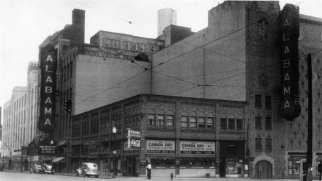 With 18th Street emerging as a main downtown corridor, the Alabama Theatre sign that was once there could be a welcome return. (contributed)