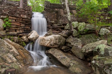 A waterfall is among the many gorgeous spots in Cheaha State Park. (Alabama State Parks)
