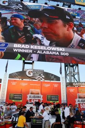 The winner. (Karim Shamsi-Basha / Alabama NewsCenter)
