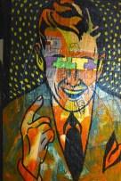 Mixed media by Paul Cordes Wilm. (Karim Shamsi-Basha / Alabama NewsCenter)